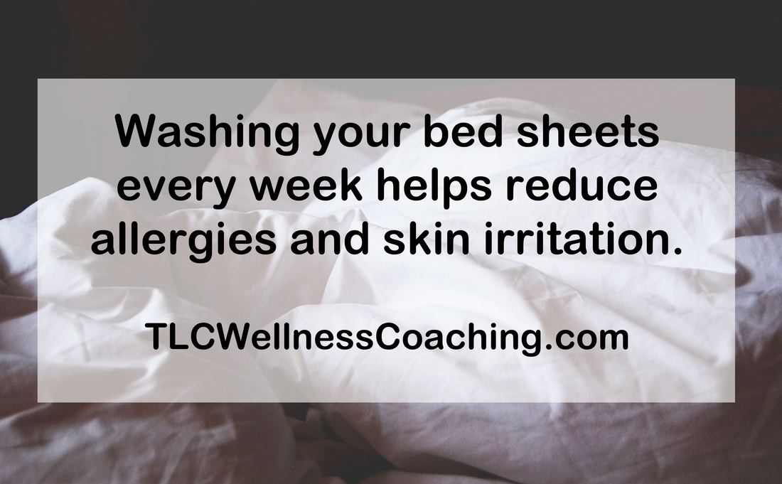 Have you ever wondered how often you actually should change your sheets? The best rule of thumb is to change your sheets weekly.  Every time you sleep you shed dead skin cells, hair and bodily fluids.