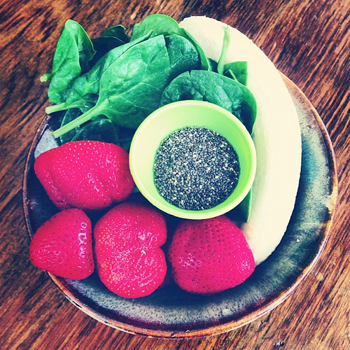 You can soak chia seeds, grind them, or eat them whole. You can also try one of these recipes!