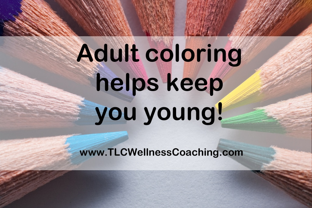 As mentioned earlier, coloring may transport you back to your childhood. But did you know it may actually help keep you young? It not only keeps your mind active, but it increases manual dexterity, which is often lost as people age