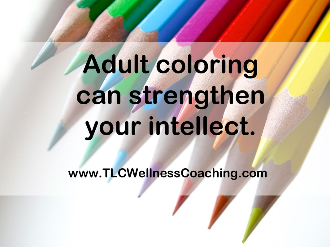 Coloring activates both hemispheres of the brain. Your mind has to think about balance, color choices, and fine motor skills.