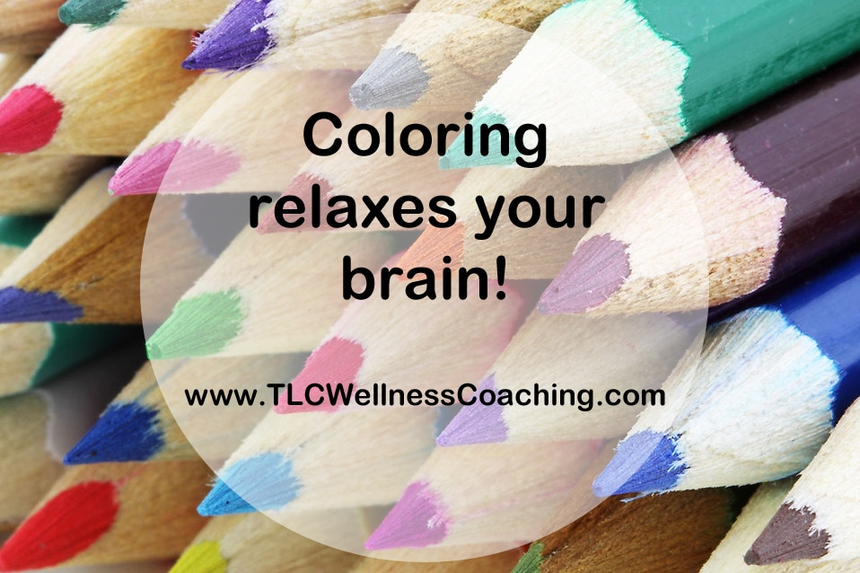 When you focus on a simple activity, your brain will usually relax. Coloring can be especially beneficial for those who aren't comfortable with more creatively expressive forms of art.